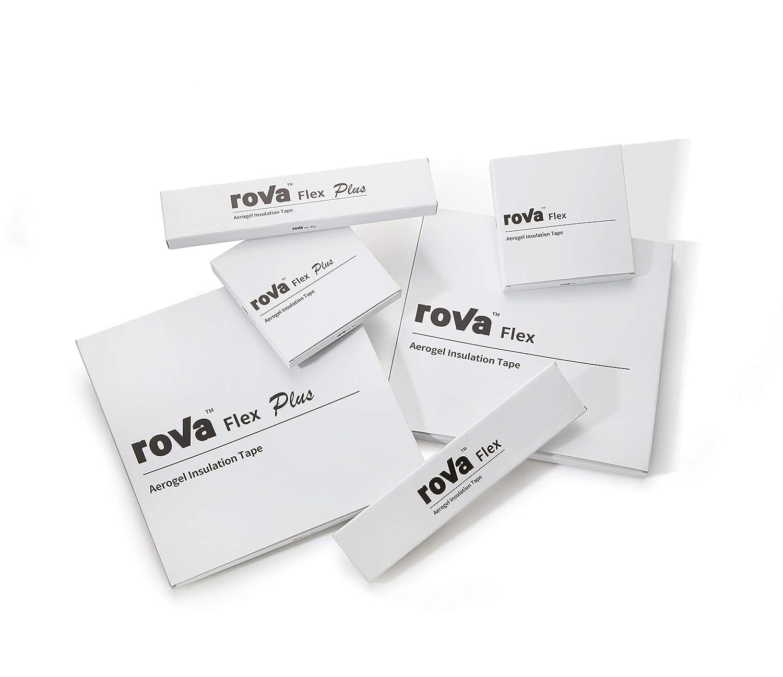 5cm x 50cm roVa Corporation 2 x 19.7 2 x 19.7 5cm x 50cm roVa Flex Aerogel Insulation Tape