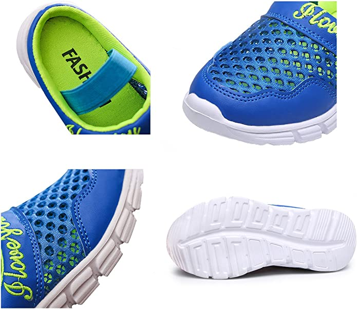 KVbabby Zuecos Ni/ños Sandalias Respirable Malla Chanclas Zapatillas de Playa Resbal/ón en Jard/ín Zapatos Mulas