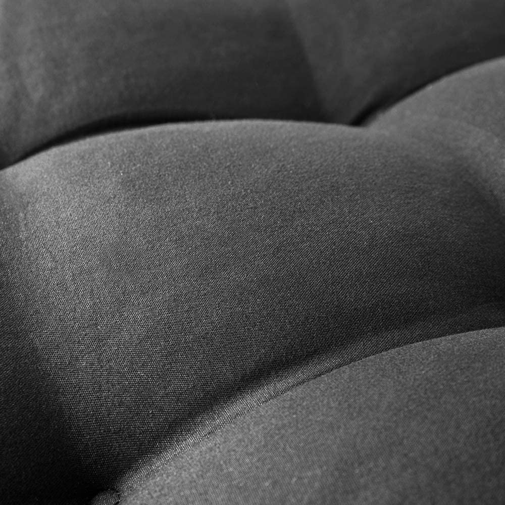 KTOL Gartenstuhlauflage Hochlehner-Auflage Sitzkissen Stuhlauflagen Terrasse Stuhlkissen Sitzauflage Sessel Pad Indoor Outdoor Deckchair Liege Rocking Stuhl Sitzauflage Polyester-blau 120x50x8cm