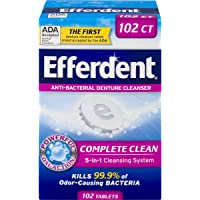 102CT Efferdent Denture Cleanser Tablets Complete Clean Deals