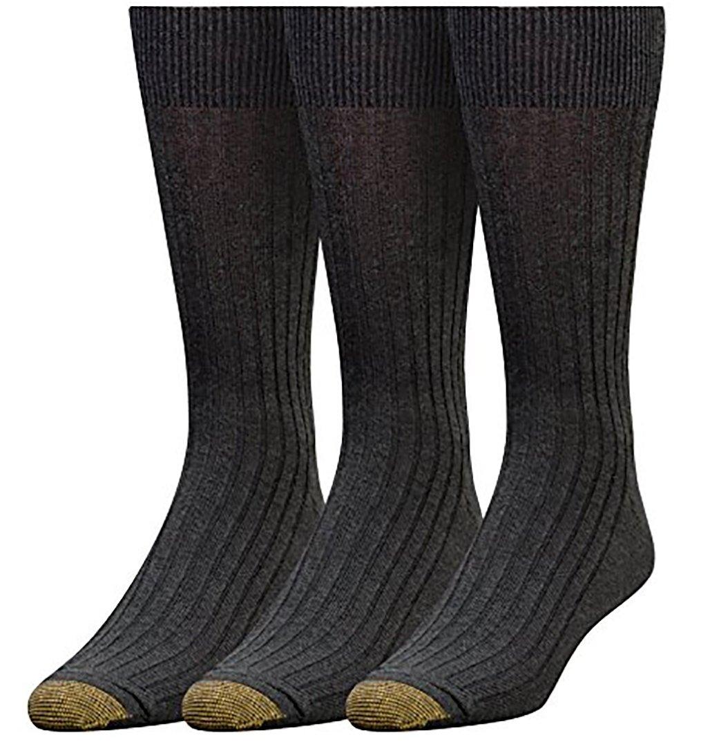Gold Toe Men's Canterbury Dress Sock (Grey Marl) by Gold Toe