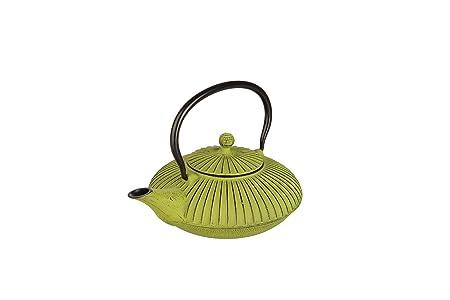 IBILI 620107 - Tetera Hierro Fundido Verde 0,78 Lt.