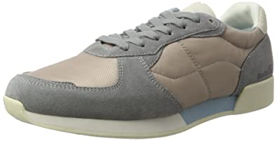Mens Safdie Sh SDE/NYL Medgry/Stnblu Trainers Boxfresh
