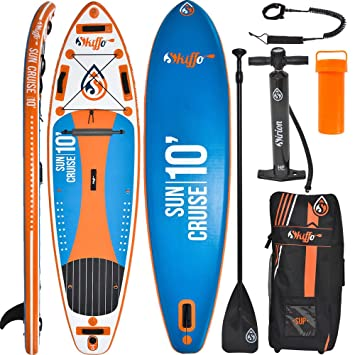 Tabla ISUP Paddel Surf board Hinchable Sun Cruise 10, PACK COMPLETO: STAND UP