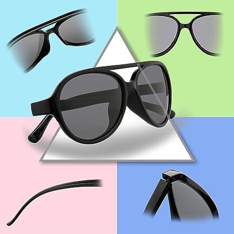 RIVBOS RBK104 Kinder Jungen Mädchen Sonnenbrille TR90 Polarisierte Sportbrille für Baby und Kinder im Alter von 4-8 W Tiefes Blau K2k8ea9UPU