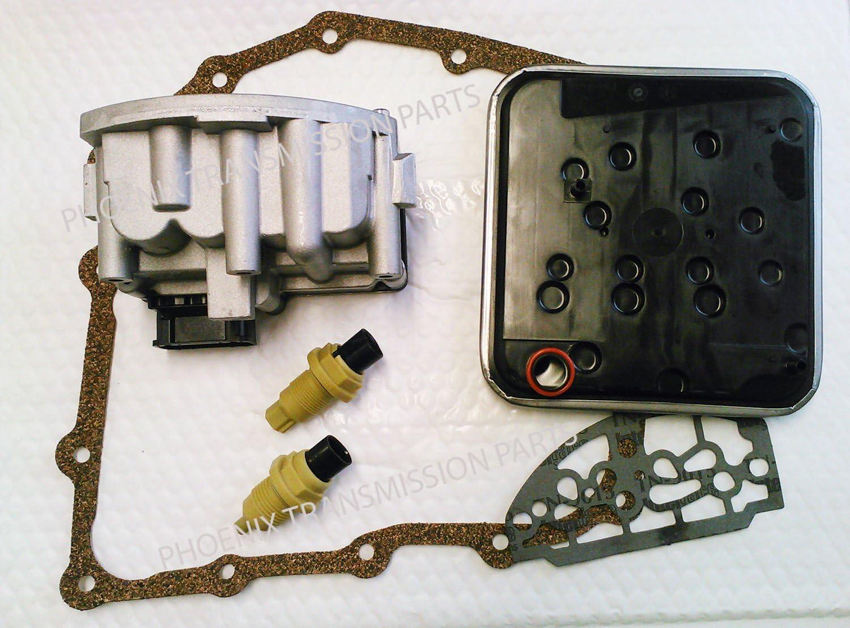 A604 Transmission Shift Solenoid Pack Solenoid Block Speed Sensors Filter Kit