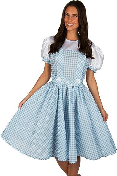 kidcostumes adultos disfraz de vestido de Dorothy de el mago de Oz ...