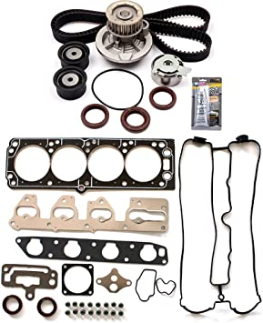 SCITOO Timing Belt Water Pump Kit and Head Gasket Sets Fits 04-07 Suzuki Reno Forenza 2.0 A20DMS L4 DOHC