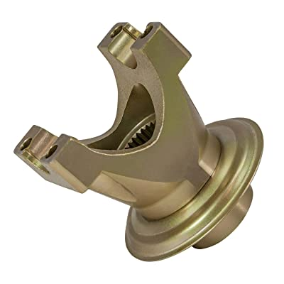 """Yukon Gear & Axle (YY F900601) Short Yoke for Ford 9 Differential with 28 spline pinion and a 1310 U/joint size. 3.219"""" snap ring span, 1.062"""" cap diameter. Outside snap ring. 4"""" length: Automotive"""