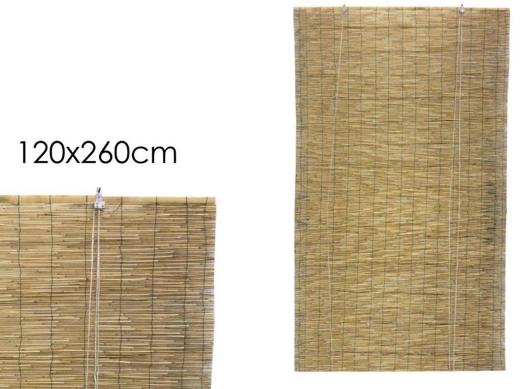 GIRM® GE864712 Arella in vimini con carrucola 120x260 cm GENERAL TRADE