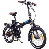 NCM London (+) 20 Zoll E-Bike, E-Faltrad, 36V 15Ah / 19Ah 540Wh / 684Wh Akku, 250W Das-Kit Heckmotor, Scheibenbremsen