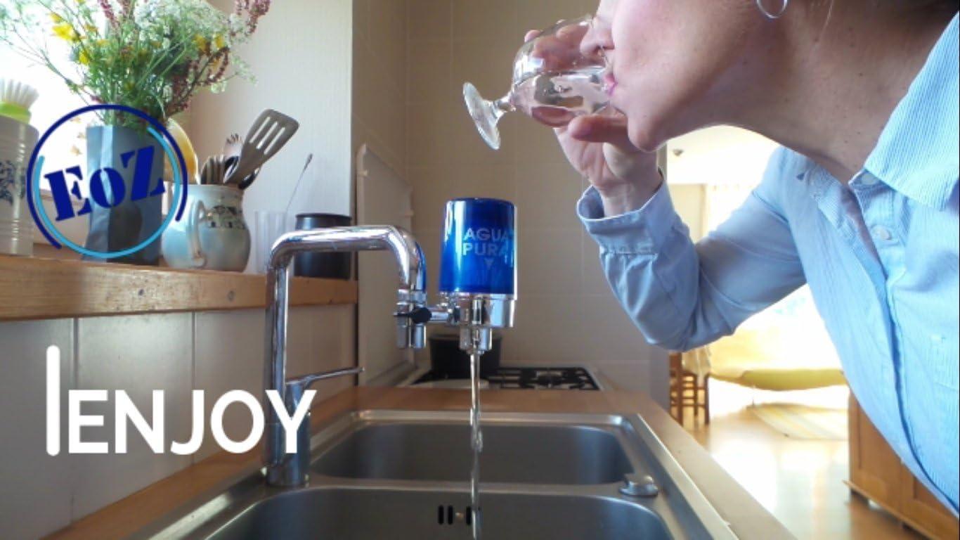 Casa Filtro de agua para grifo de la cocina aquaeoz: Amazon.es: Hogar