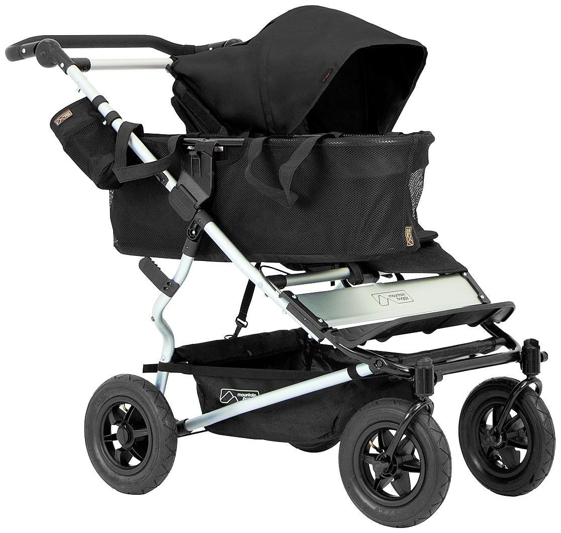 Mountain Buggy Joey Storage with Tote Bags for Duet Double Stroller, Black joey-V1-5_200_USA