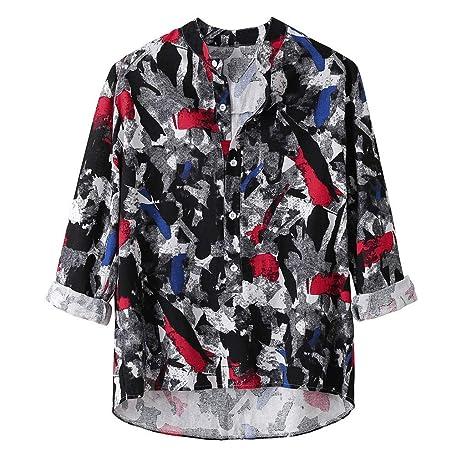 ZODOF camisa hombre camisas sport Nuevo Casual Comodo Moda Otoño ...