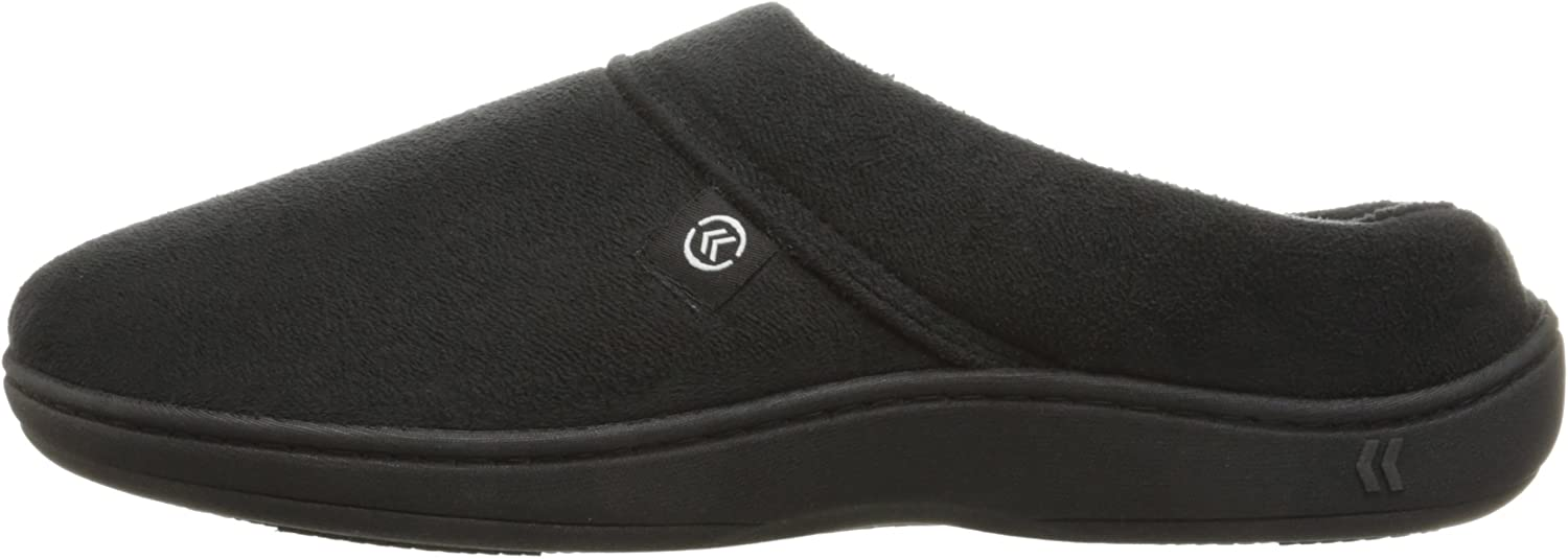 Mens Microsuede Devin Slip On Slipper with with Cooling Memory Foam for Indoor//Outdoor Comfort