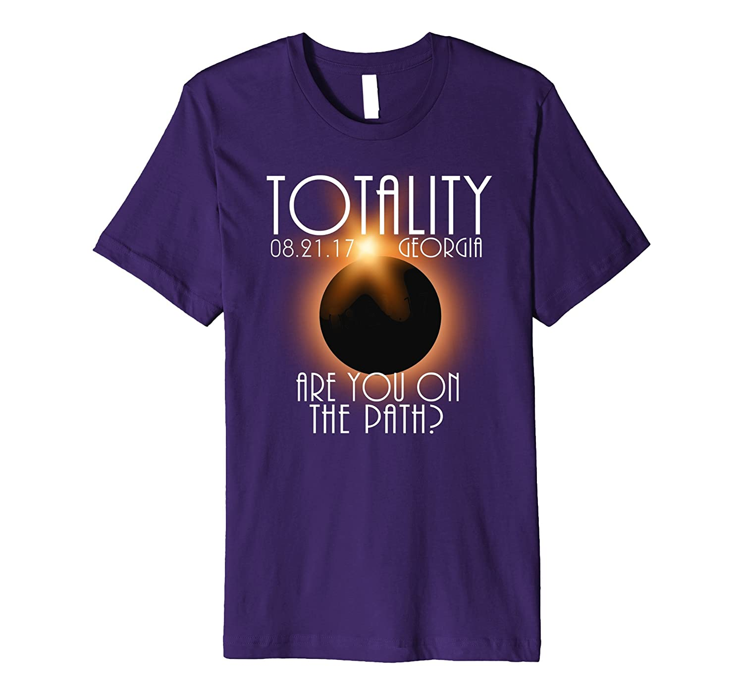 Path of Totality Shirt Georgia – Total Eclipse Shirt, Eclips