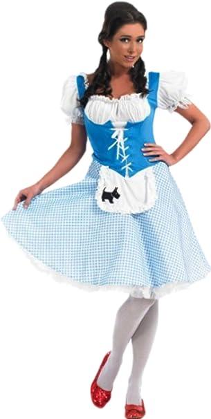 erdbeerloft – Mujer Dorothy vestido, Cuento Disfraz, carnaval,, M ...