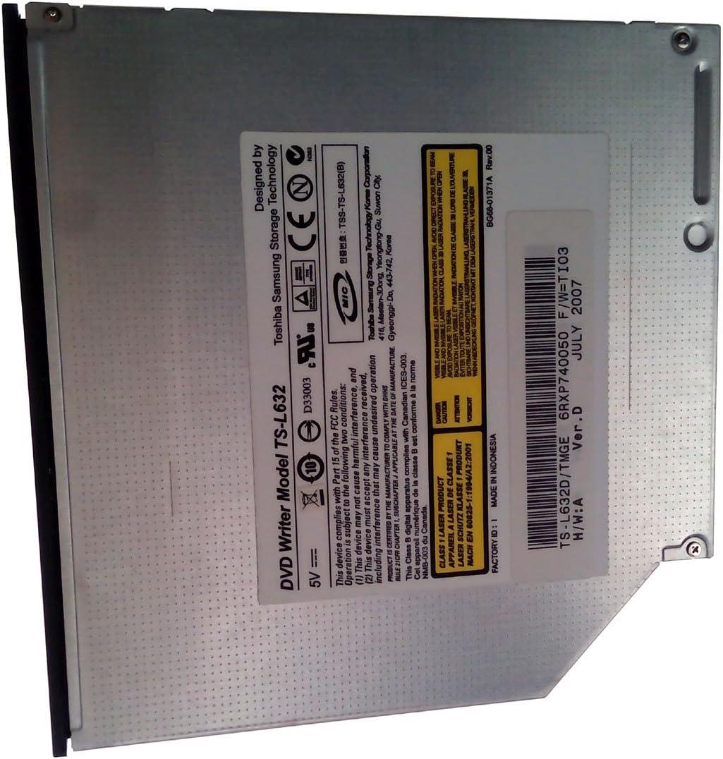 TS-L632 DVD-RW Drive Burner IDE Dual Layer For Dell Inspiron 630M 640M B120 B130 1300 6000 6400 9200 9300 1420, 1501, 1520, 1521