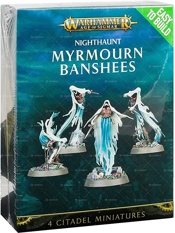 Easy to build nighthaunt glaivewraith Stalkers Games Workshop Warhammer aos