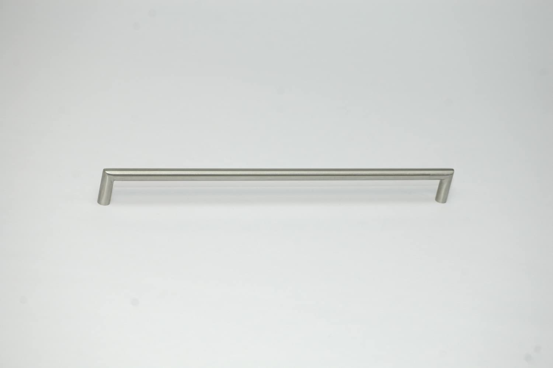 Griff M/öbelgriff Schrankgriff Gehrungsgriff Edelstahl geb/ürstet rostfrei Bohrlochabstand 352mm