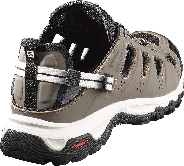 Salomon Evasion Cabrio, Zapatillas de Senderismo para Hombre, Marrón (Bungee Cord/Vanilla Ice/Black Bungee Cord/Vanilla Ice/Black), 43 1/3 EU: Amazon.es: Zapatos y complementos