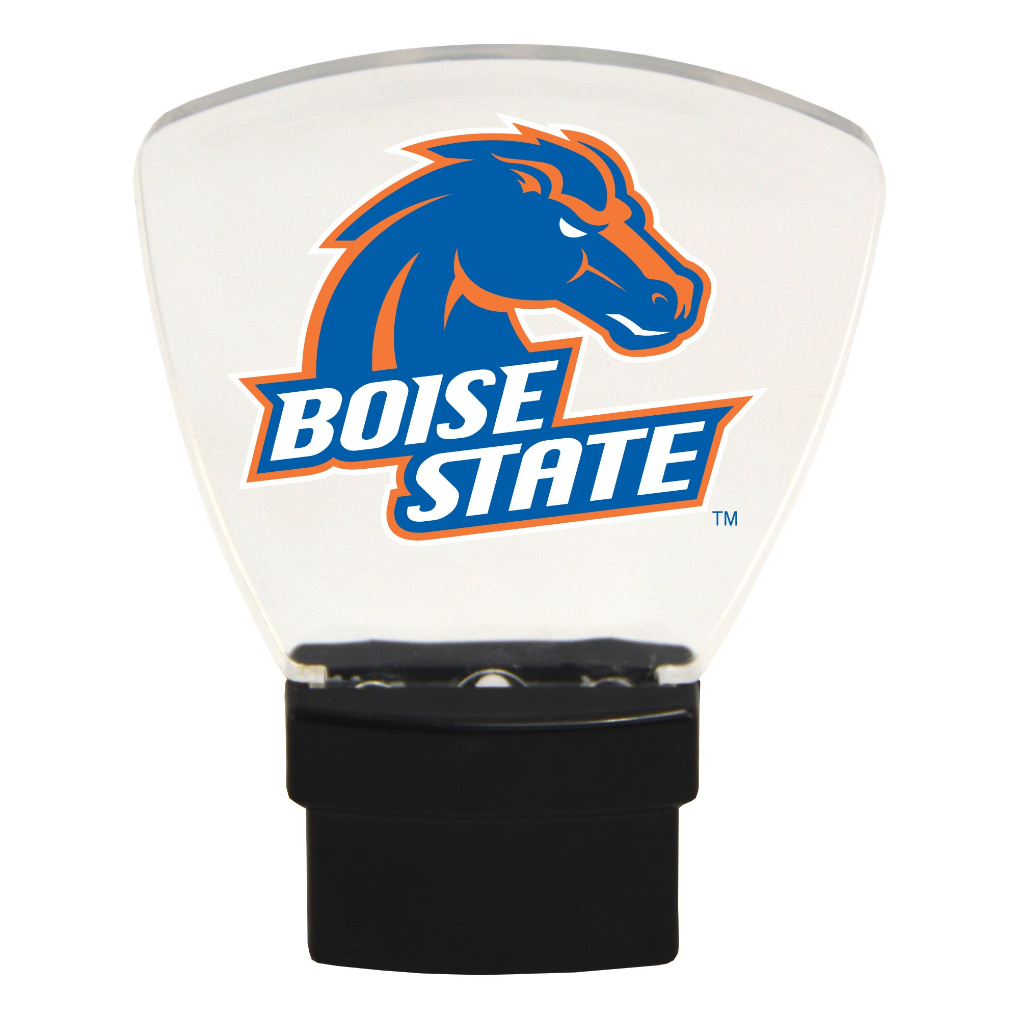 Authentic Street Signs NCAA Officially Licensed-LED NIGHT LIGHT-Super Energy Efficient-Prime Power Saving 0.5 watt, Plug In-Great Sports Fan gift for Adults-Babies-Kids Room (Boise State Broncos)