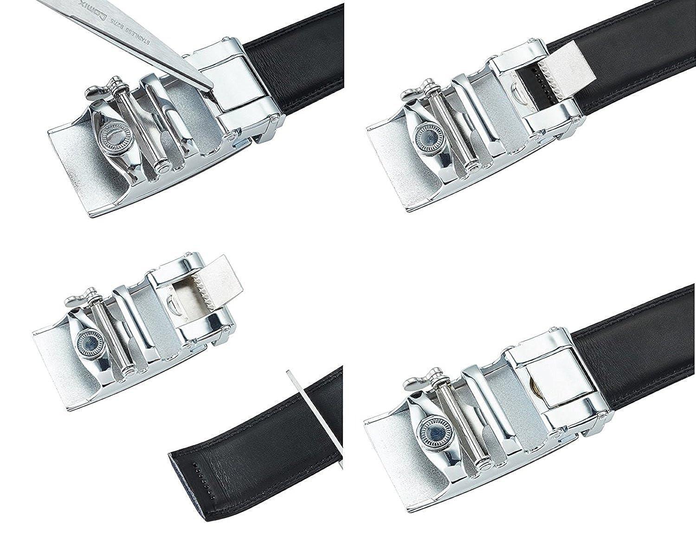 Black 2, 36 Mens Locking Belts