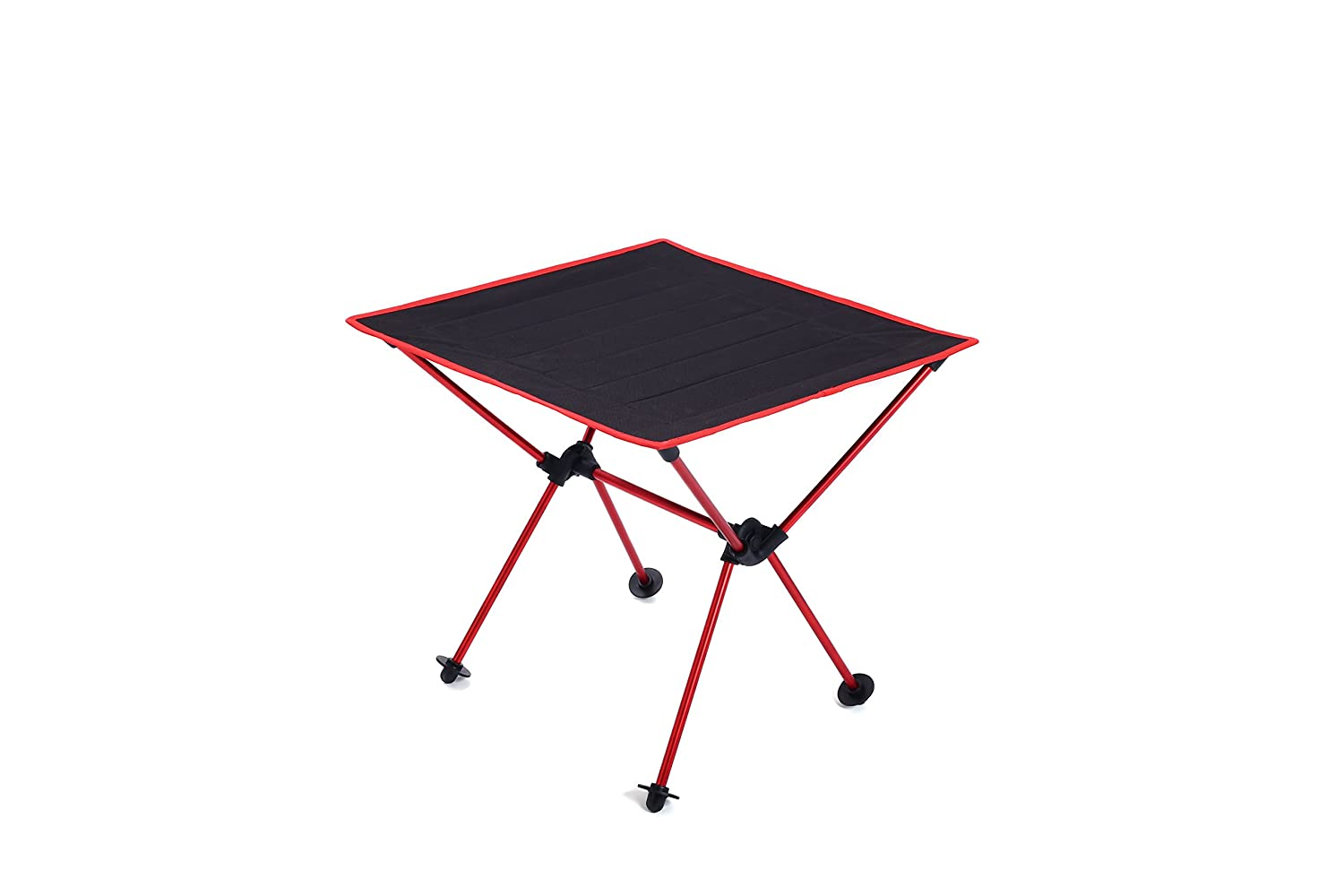 Blue Saibyss Lightweight Portable Table Foldable Folding Camping Outdoor Picnic Travel Ultra Light Desk,Durable 600D Thicken Oxford Cloth,Sturdy Aluminum Alloy Frame,with Carry Bag with Carry Bag