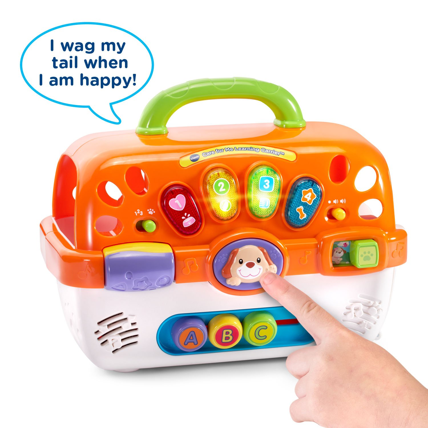 VTech Care for Me Learning Carrier Toy, Orange by VTech (Image #2)