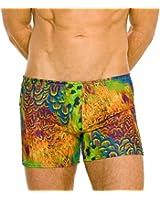 Kiniki Amalfi Tan Through Swim Shorts Swimwear