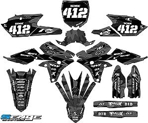 Senge Graphics 2002-2014 YZ 85 Mayhem Black Base kit Compatible with Yamaha