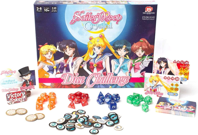 Dyskami Pushblishing Sailor Moon Crystal: Dice Challenge: Amazon.es: Juguetes y juegos