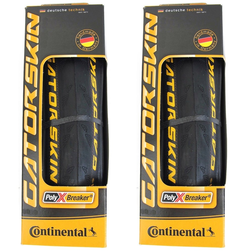 Continental Gatorskin Foldingタイヤペア700 x 32 C Puncture Resist 700 C Road Tour B076CQ5BJ7