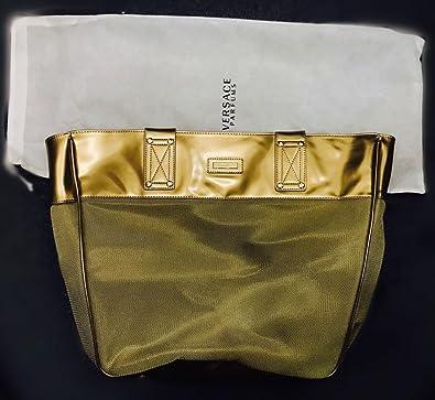 d72a57fff0b VERSACE GOLD Tote Shoulder Bag Handbag  Amazon.co.uk  Shoes   Bags