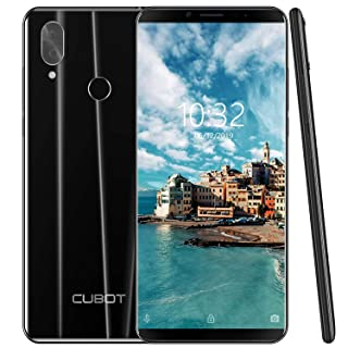 4G Unlocked Smartphone, CUBOT X19 Android 9.0 Phones Unlocked with 5.93 inch FHD Display, 4GB RAM+64GB ROM, 4000mAh Battery,16MP Camera, Fingerprint Sensor,Face ID-Black