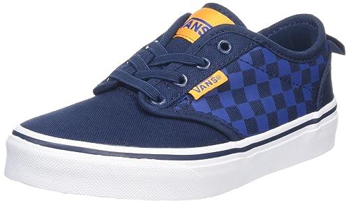81b674d4 Vans Boys' Yt Atwood Slip-on Low-Top Sneakers