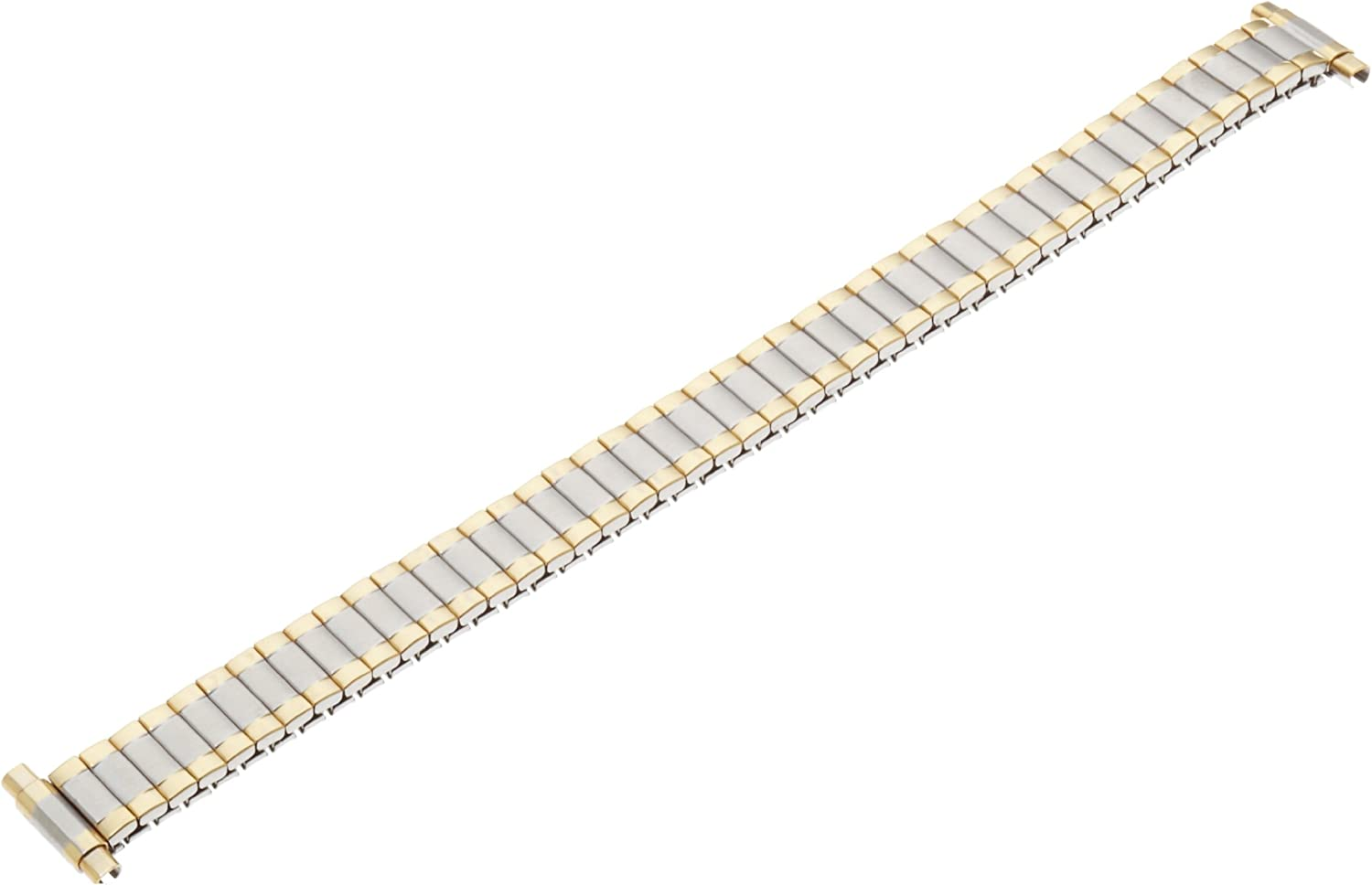 Timex Women's Q7B866 Two-Tone Stainless Steel Expansion 11-13mm Replacement Watchband