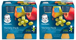 Gerber Juice Fruit Variety (Pack of 2)