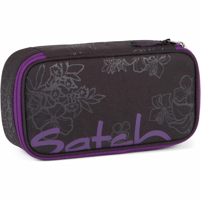 Satch schlamperbox purple hibiscus 9c6 schwarz lila: amazon.de ...
