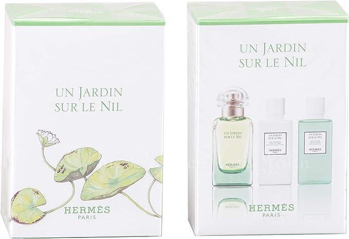 Hermes Hermes Un Jardin Sur Le Nil 50+Bl40+Sg40 200 g: Amazon.es: Belleza