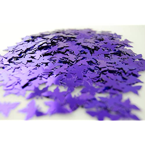 High Quality Purple Butterfly Table Confetti Wedding Party Decoration