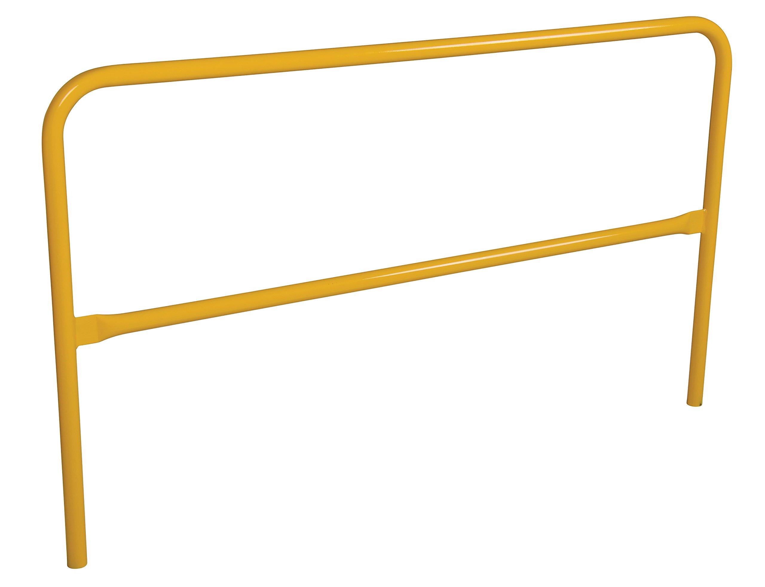 Vestil Pipe Safety Railing - Steel, 72in.L, Model# VDKR-6 by Vestil