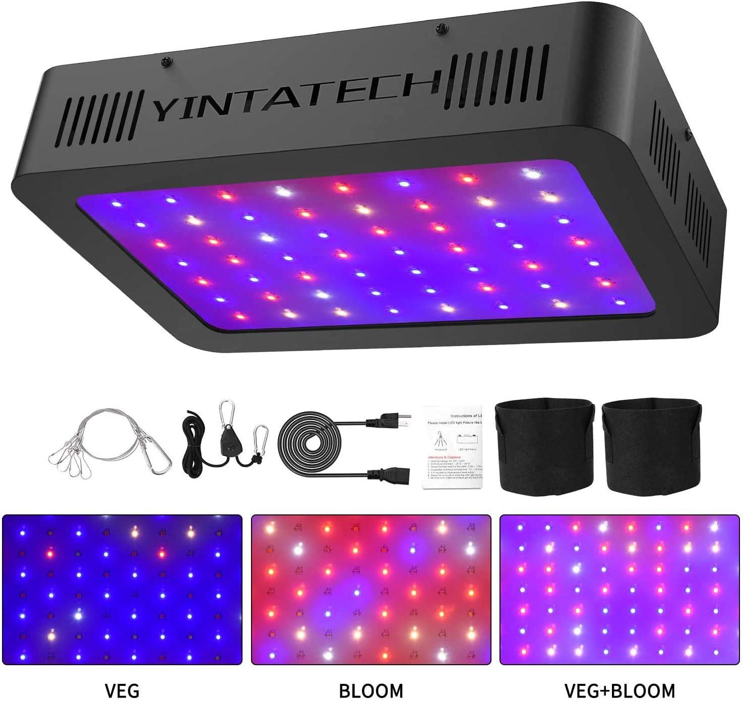 600w Digital Electronic Light kit 600w Dual Spectrum bulb