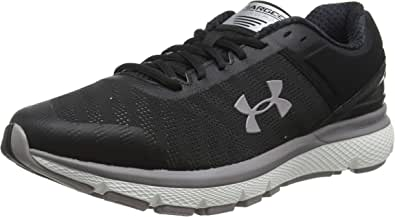 Under Armour Charged Europa 2, Women's Road Running Shoes, Black (Black/Tetra Gray)