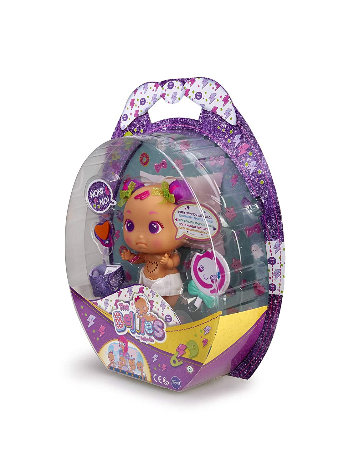 The Bellies Doll for Children and Girls Ages 3+ Famous 700015270 Noni No Multi-Colour