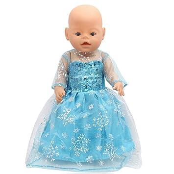 handarbeit,NEU Puppenkleidung,Baby Born,Kleid 43 cm