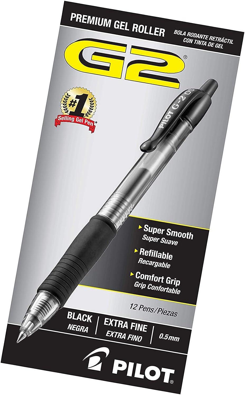Black 1 12 Ct Retractable Gel Ball Pens
