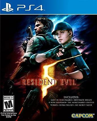 Amazon Com Resident Evil 5 Standard Edition Playstation 4