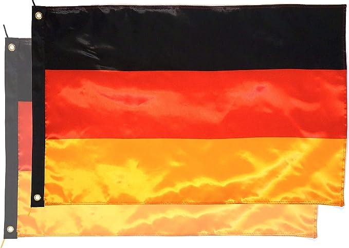 Star Cluster - Bufanda de la bandera de Alemania, ., 2 unidades de bandera alemana.: Amazon.es: Deportes y aire libre