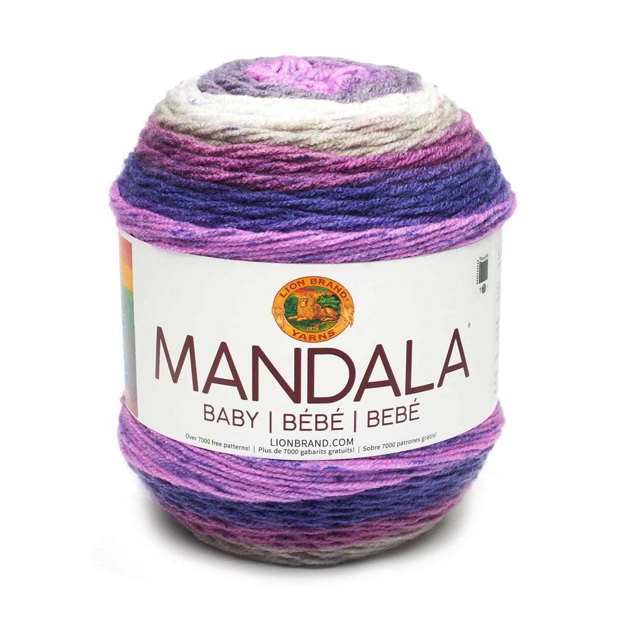 Amazon.com: Lion Brand Mandala Baby Magic Moon - New Color